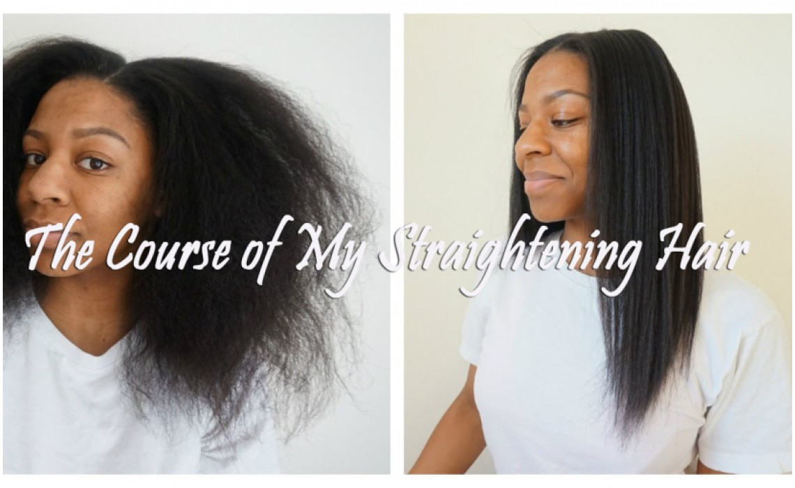 The Course of My Straightening Hair