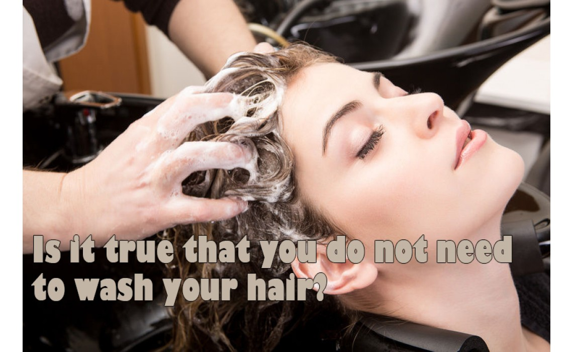 Is it true that you do not need to wash your hair?