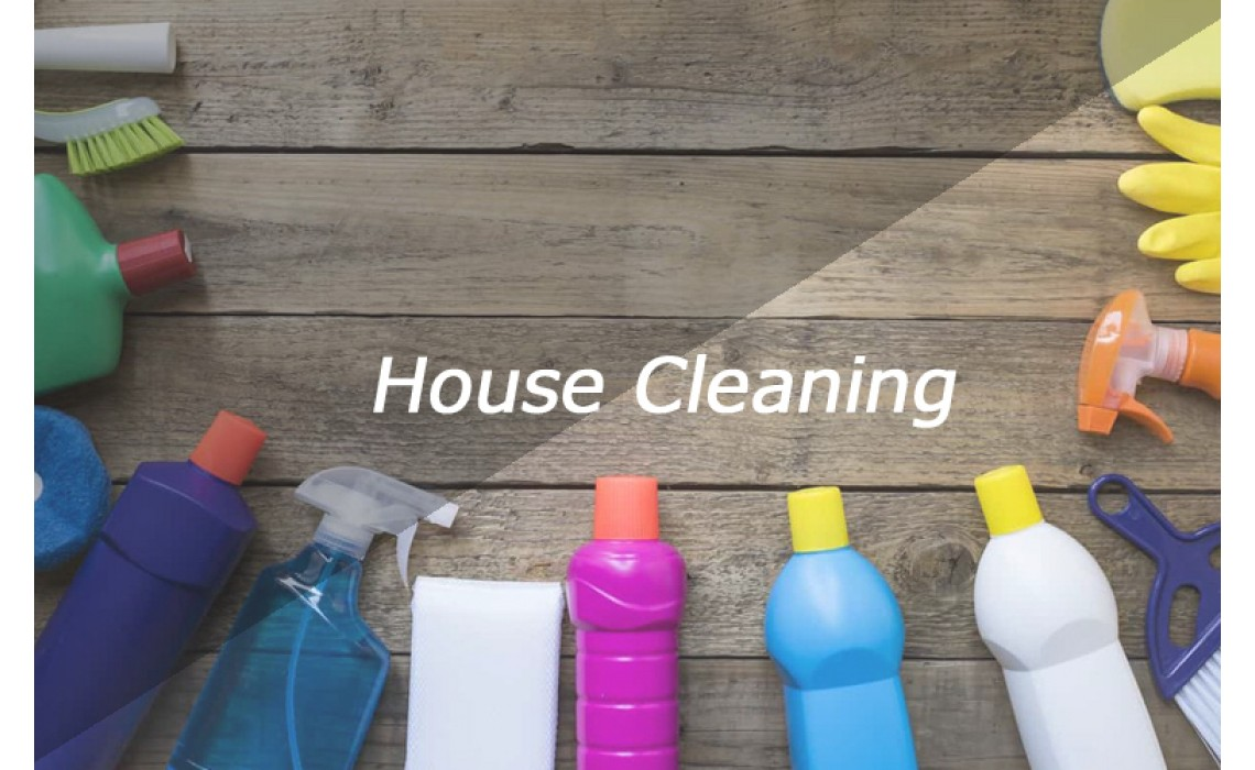 How to cleaning a residential house?
