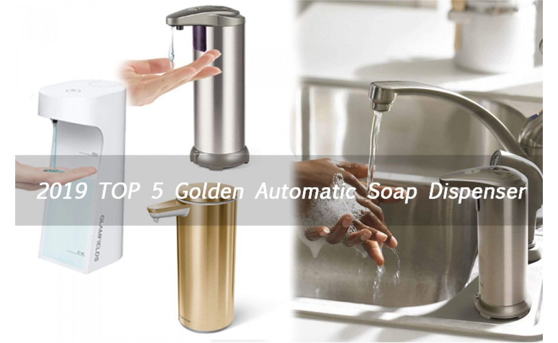 Top 5 Best Automatic Soap Dispensers
