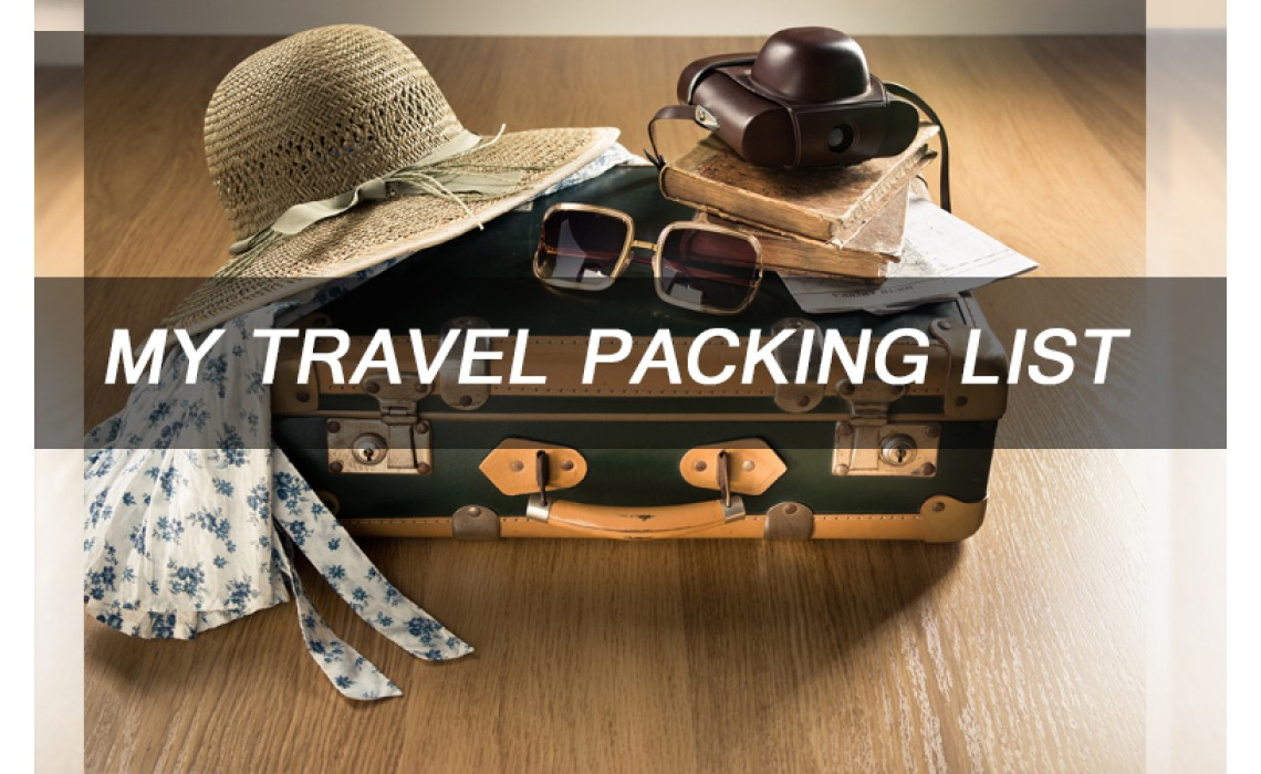 What should we pack to travel ? 5 Steps