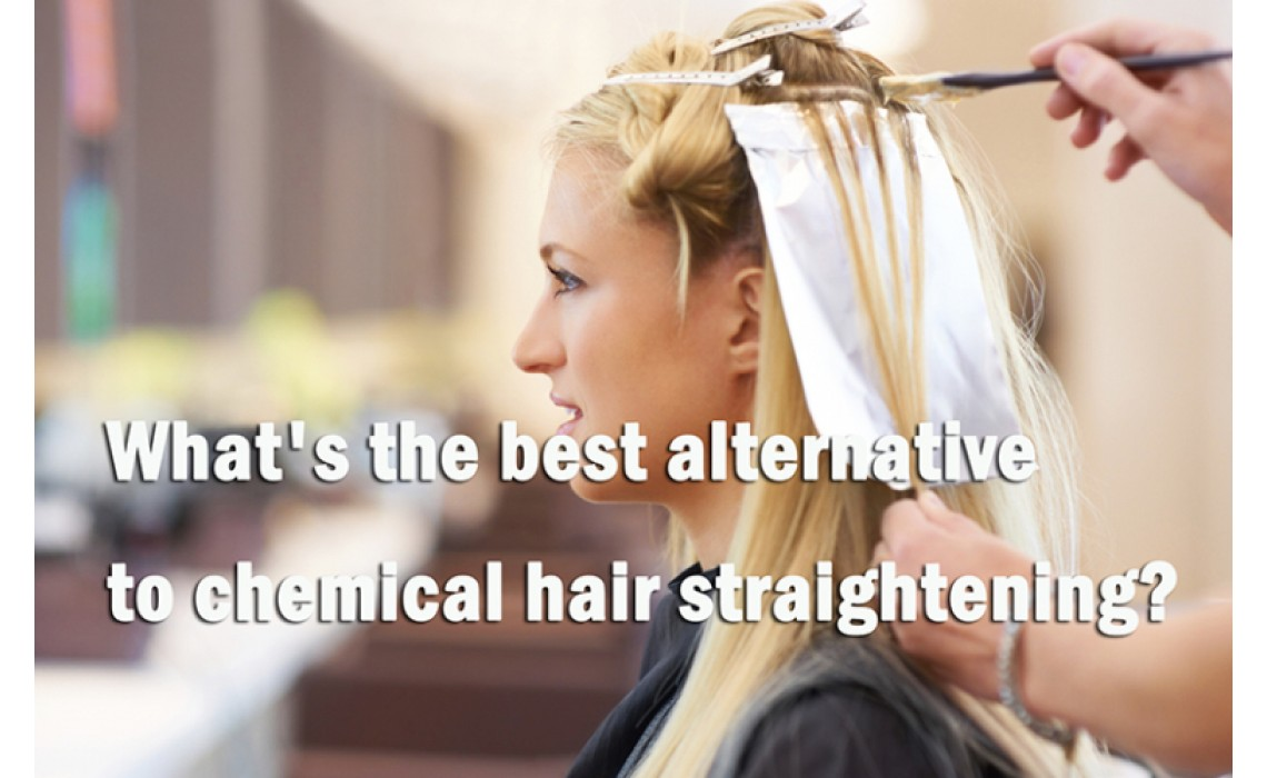 What's the best alternative to chemical hair straightening?