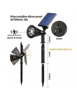 Motion Sensor Solar Lights