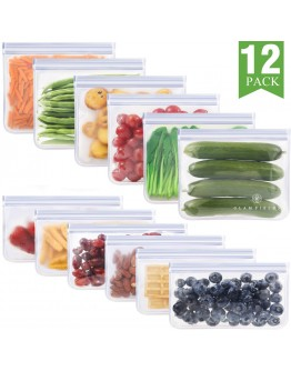12 Pack Reusable Storage Bags